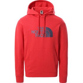 The North Face Light Drew Peak Pullover Hoodie Men rococco red